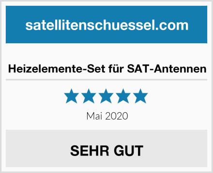 Heizelemente-Set für SAT-Antennen Test