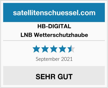 HB-DIGITAL LNB Wetterschutzhaube Test