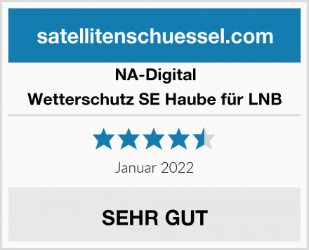 NA-Digital Wetterschutz SE Haube für LNB Test