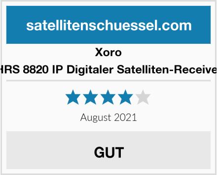 Xoro HRS 8820 IP Digitaler Satelliten-Receiver Test