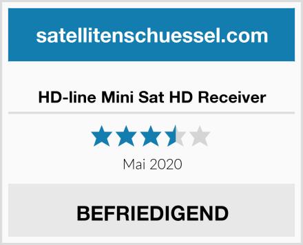 HD-line Mini Sat HD Receiver Test