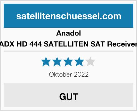 Anadol ADX HD 444 SATELLITEN SAT Receiver Test