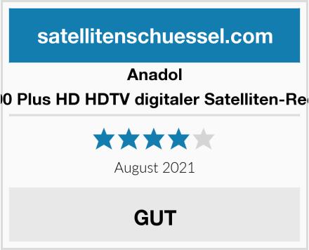 Anadol HD 200 Plus HD HDTV digitaler Satelliten-Receiver Test