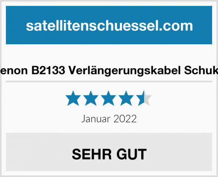 benon B2133 Verlängerungskabel Schuko Test