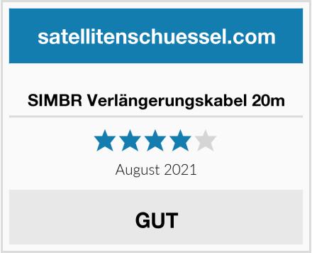 SIMBR Verlängerungskabel 20m Test