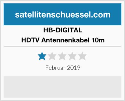HB-DIGITAL HDTV Antennenkabel 10m Test