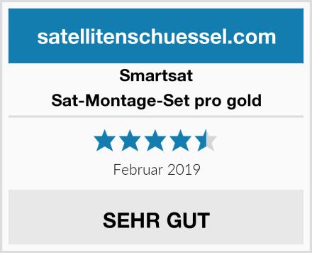 Smartsat Sat-Montage-Set pro gold Test
