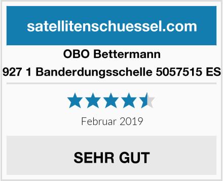 Obo-Bettermann 927 1 Banderdungsschelle 5057515 ES Test
