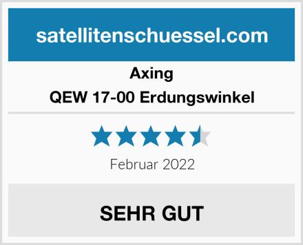 Axing QEW 17-00 Erdungswinkel Test