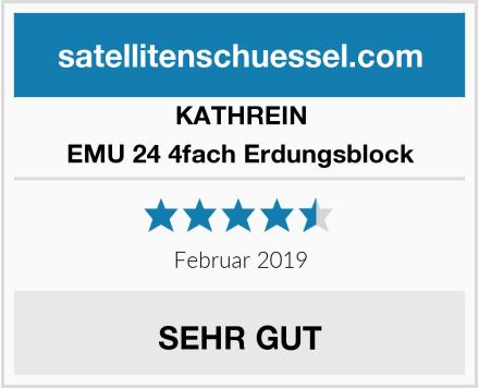 KATHREIN EMU 24 4fach Erdungsblock Test