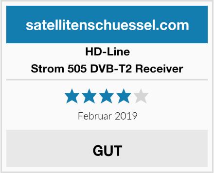 HD-Line Strom 505 DVB-T2 Receiver Test