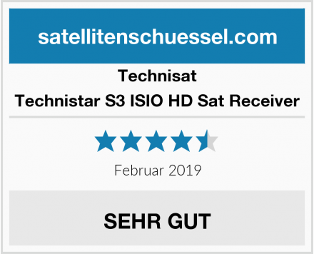 Technisat Technistar S3 ISIO HD Sat Receiver Test