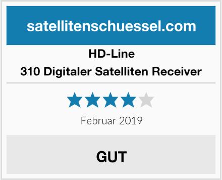 HD-Line 310 Digitaler Satelliten Receiver Test