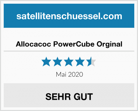 Allocacoc PowerCube Orginal Test