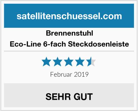 Brennenstuhl Eco-Line 6-fach Steckdosenleiste Test