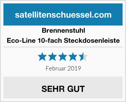 Brennenstuhl Eco-Line 10-fach Steckdosenleiste Test