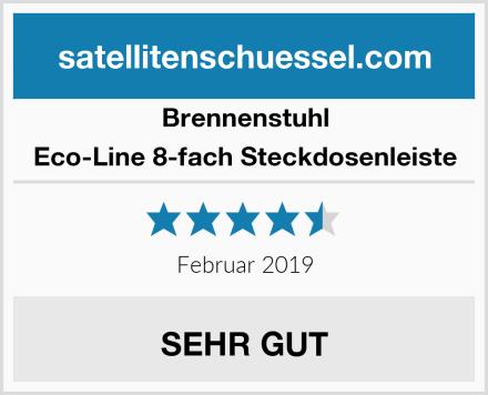 Brennenstuhl Eco-Line 8-fach Steckdosenleiste Test