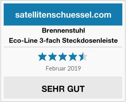 Brennenstuhl Eco-Line 3-fach Steckdosenleiste Test