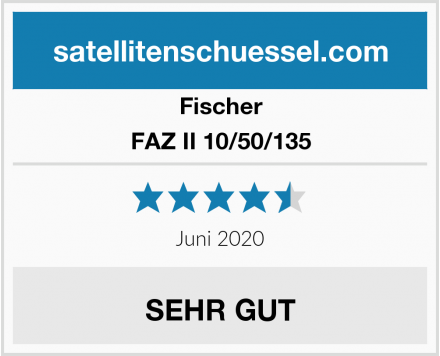 Fischer FAZ II 10/50/135 Test