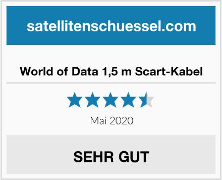World of Data 1,5 m Scart-Kabel Test