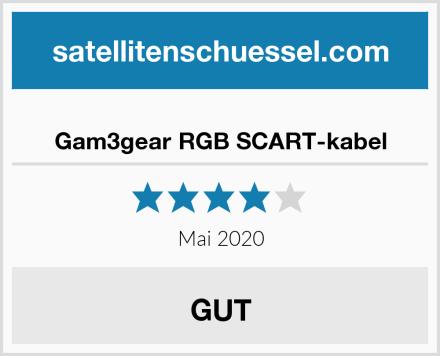 Gam3gear RGB SCART-kabel Test