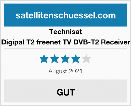 Technisat Digipal T2 freenet TV DVB-T2 Receiver Test