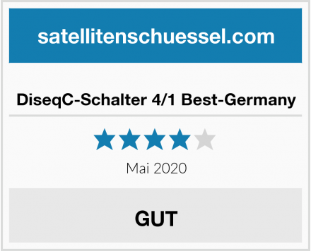DiseqC-Schalter 4/1 Best-Germany Test