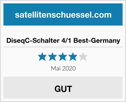DiseqC-Schalter 4/1 Best-Germany Test