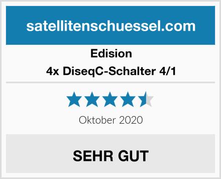 Edision 4x DiseqC-Schalter 4/1 Test
