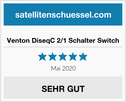 Venton DiseqC 2/1 Schalter Switch Test