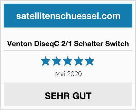 Venton DiseqC 2/1 Schalter Switch Test