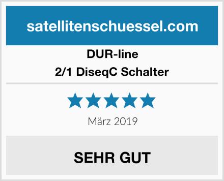 DUR-line 2/1 DiseqC Schalter Test