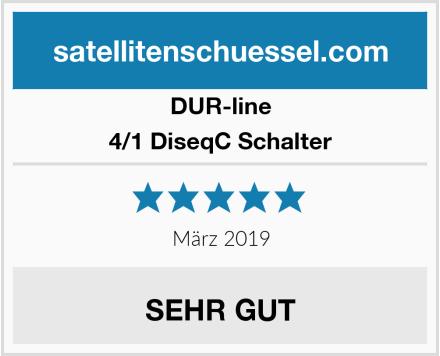 DUR-line 4/1 DiseqC Schalter Test