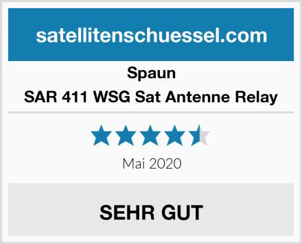Spaun SAR 411 WSG Sat Antenne Relay Test
