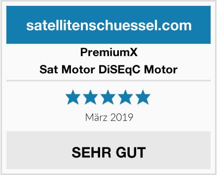 PremiumX Sat Motor DiSEqC Motor Test