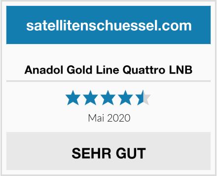 Anadol Gold Line Quattro LNB Test
