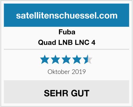 Fuba Quad LNB LNC 4 Test