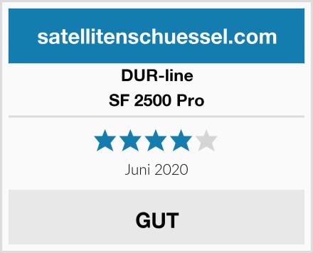 DUR-line SF 2500 Pro Test