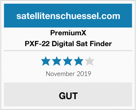 Premiumx PXF-22 Digital Sat Finder Test