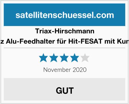 Triax-Hirschmann NTS Nachrüstsatz Alu-Feedhalter für Hit-FESAT mit Kunststofffeedhalter Test