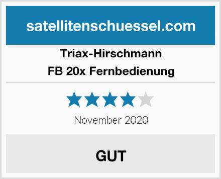 Triax-Hirschmann FB 20x Fernbedienung Test