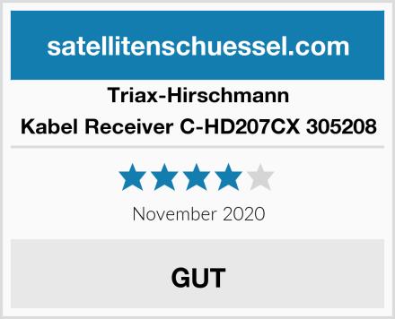 Triax-Hirschmann Kabel Receiver C-HD207CX 305208 Test