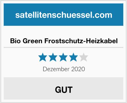 Bio Green Frostschutz-Heizkabel Test
