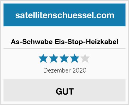 As-Schwabe Eis-Stop-Heizkabel Test