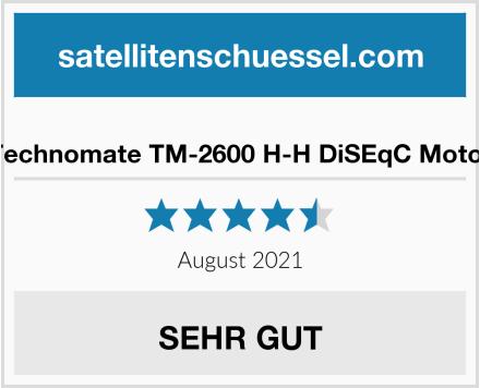 Technomate TM-2600 H-H DiSEqC Motor Test