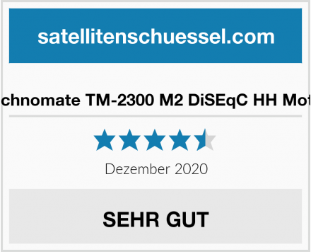 Technomate TM-2300 M2 DiSEqC HH Motor Test