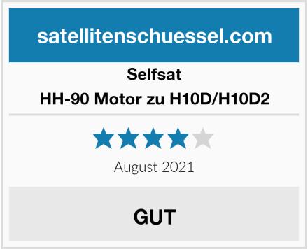 Selfsat HH-90 Motor zu H10D/H10D2 Test