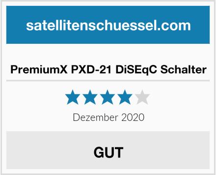 PremiumX PXD-21 DiSEqC Schalter Test