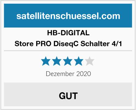 HB-DIGITAL Store PRO DiseqC Schalter 4/1 Test