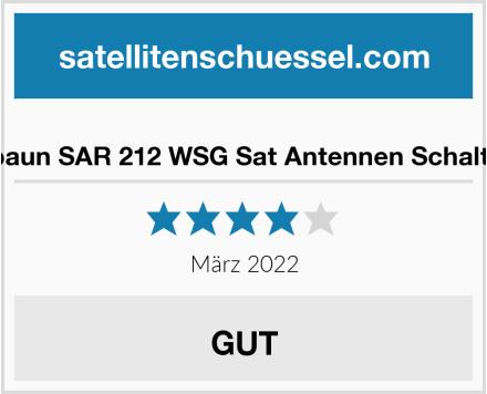 Spaun SAR 212 WSG Sat Antennen Schalter Test